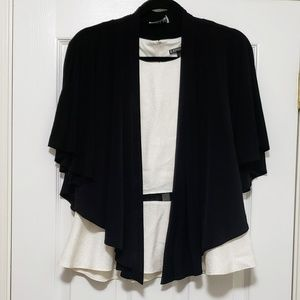 EUC Cover-Up Black Cape ONLY